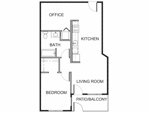 Brand New One Bedroom + Office Apartments for Rent | Mason at Hive Apartments in Oakland, CA Now Leasing