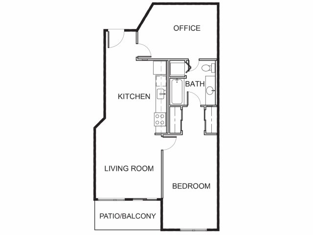 Brand New One Bedroom + Office Apartments for Rent   Mason at Hive Apartments in Oakland, CA Now Leasing