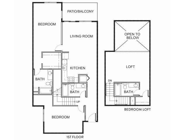 Brand New Three Bedroom Loft Apartments for Rent | Mason at Hive Apartments in Oakland, CA Now Leasing