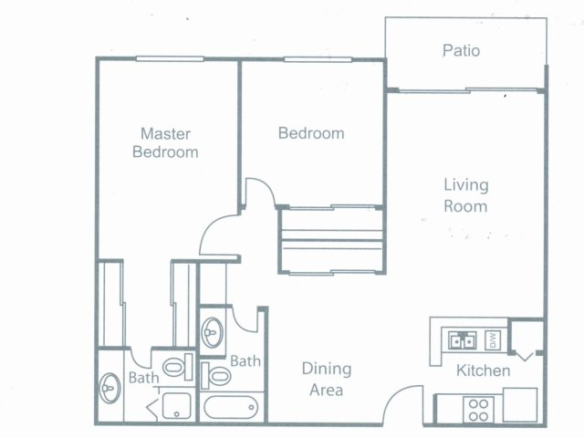 Two Bedroom West Covina, CA Apartments For Rent l Brookstone Apartments
