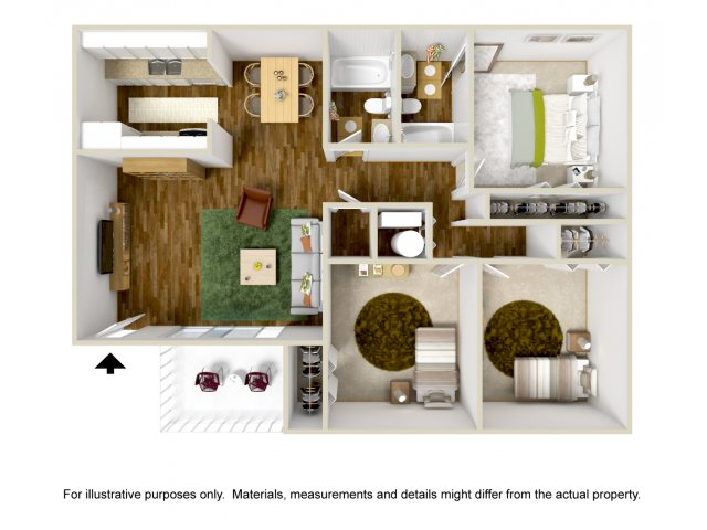 Three Bedroom Apartments in Albuquerque, NM l Mountain Vista Apartments