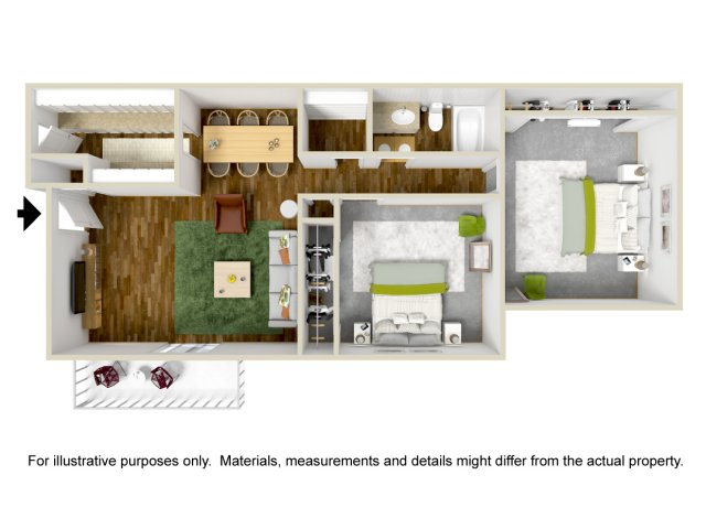 Two Bedroom Apartments in Albuquerque, NM l Sierra Meadows