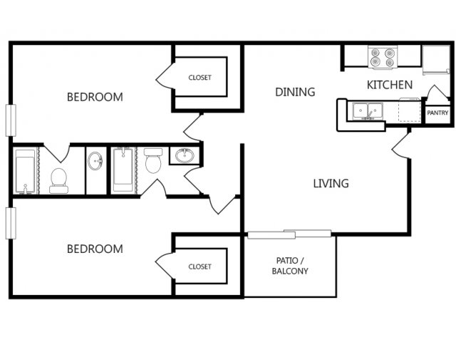 Two Bedroom Apartments For Rent In Longview, Texas Apartments
