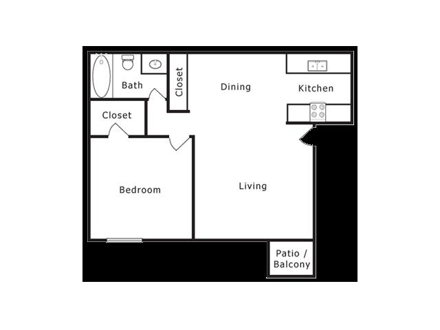 One Bedroom Apartments in El Paso, Texas l Lake Fairway Apartments