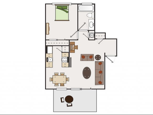 One Bedroom Apartments for rent in Walnut Creek, CA Stoneridge Luxury Apartments|
