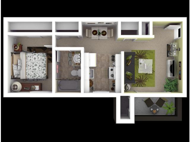 Sacramento Apartments for Rent l The Palms