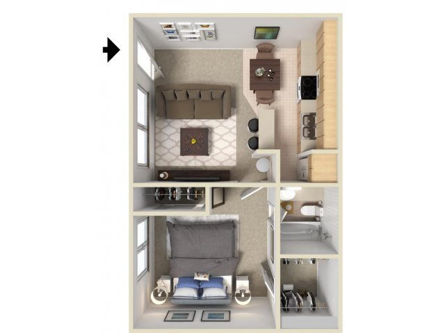 1 Bedroom Apartments In Davis Ca Gorgeous 1 Bed  1 Bath Apartment In Davis Ca  J Street Apartments Inspiration Design