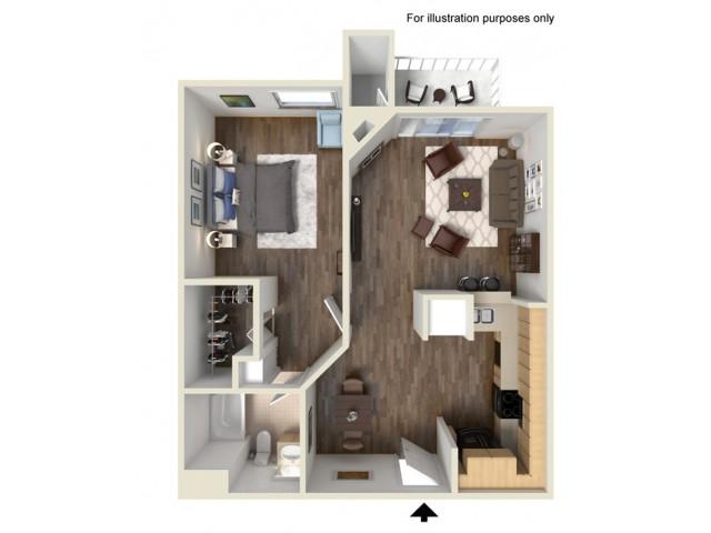 One Bedroom Apartments for rent in Santa Clarita, CA l Canyon Crest Apartment Homes