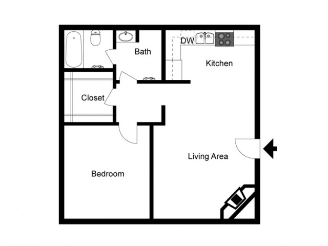 1x1 apartments for rent in Reno, NV l Skyline apartments