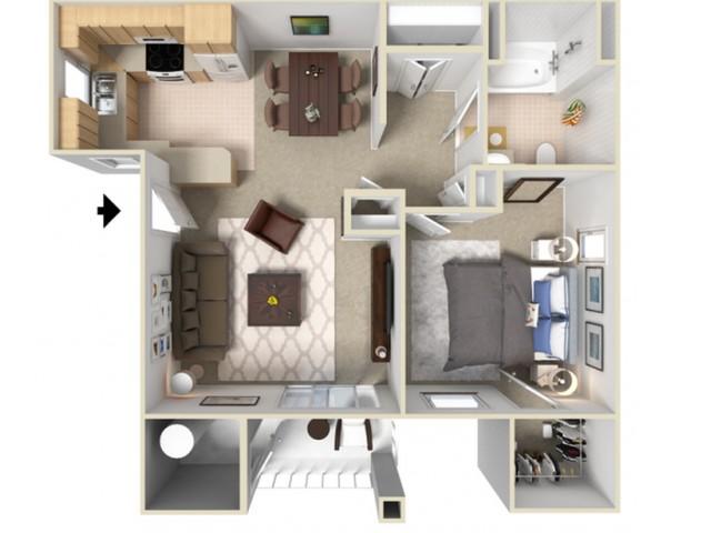 One Bedroom Apartments For Rent in Elk Grove, CA l Siena Villas