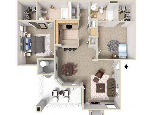 TwoBedroom Apartments For Rent in Elk Grove, CA l Siena Villas