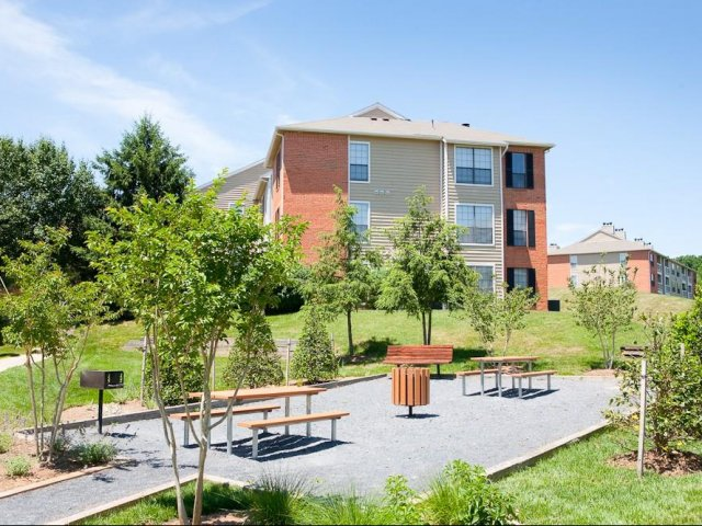 Hampton Point - Silver Spring, Maryland - Apartments For Rent - Grilling and Picnic Area