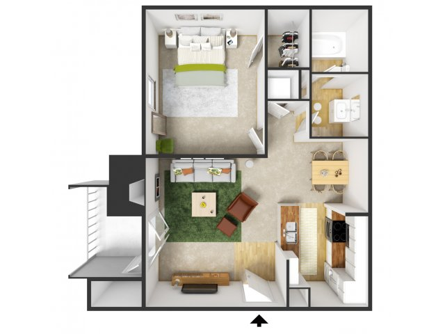 Floor Plans1 Bed   1 Bath Apartment in Dallas TX   Landmark at Rosewood  . Four Bedroom Houses For Rent In Dallas Tx. Home Design Ideas