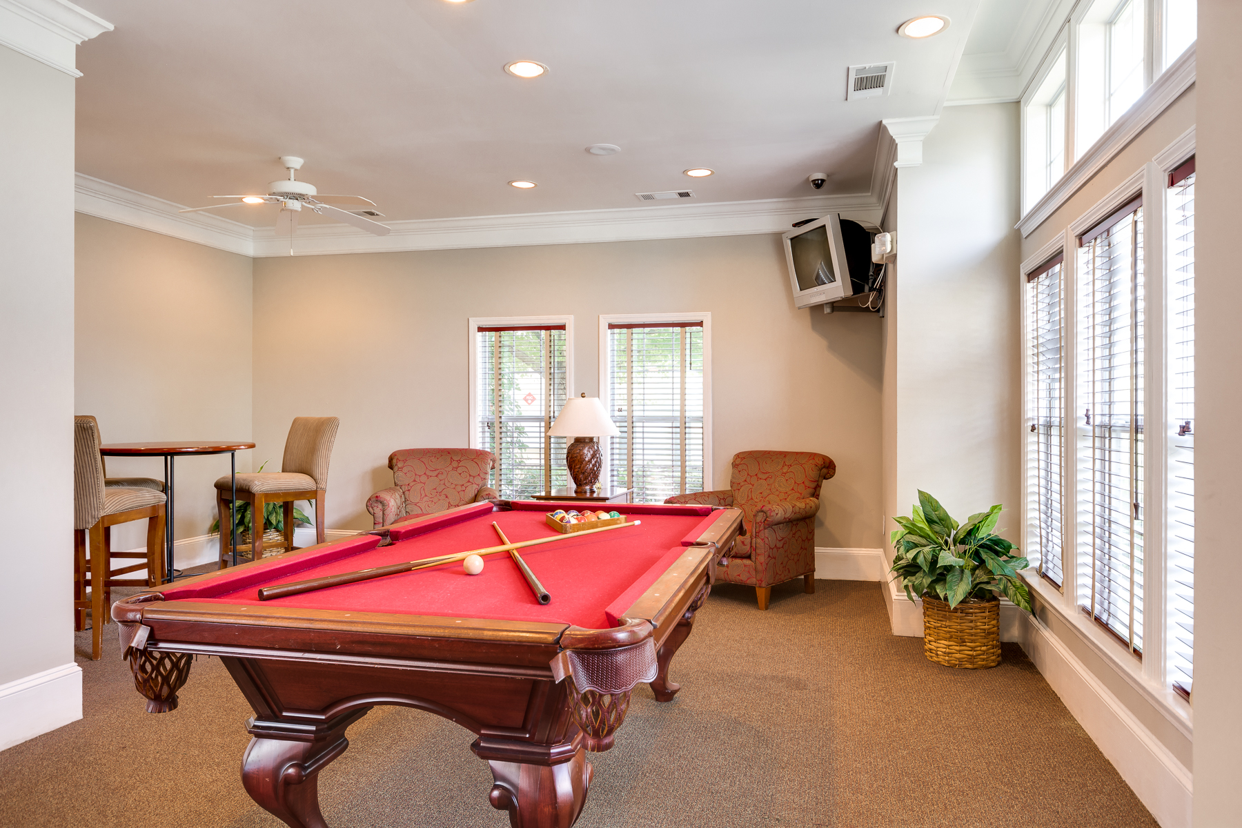 Billiard Room | Village at Almand Creek Apartments Conyers, GA
