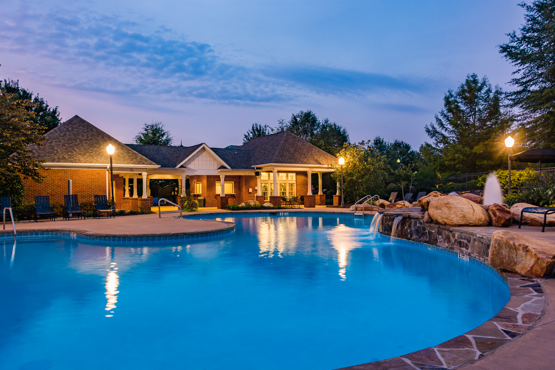 Swimming Pool | Village at Almand Creek Apartments Conyers, GA