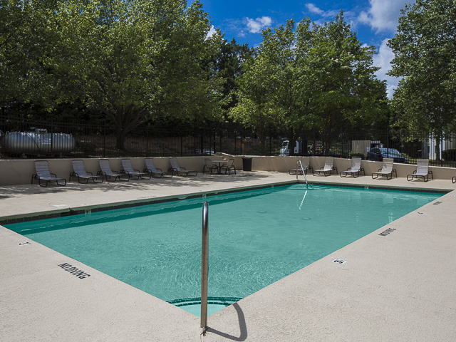 Image of Swimming Pool with Sundeck and Heated Spa for Victoria Park Apartment Homes