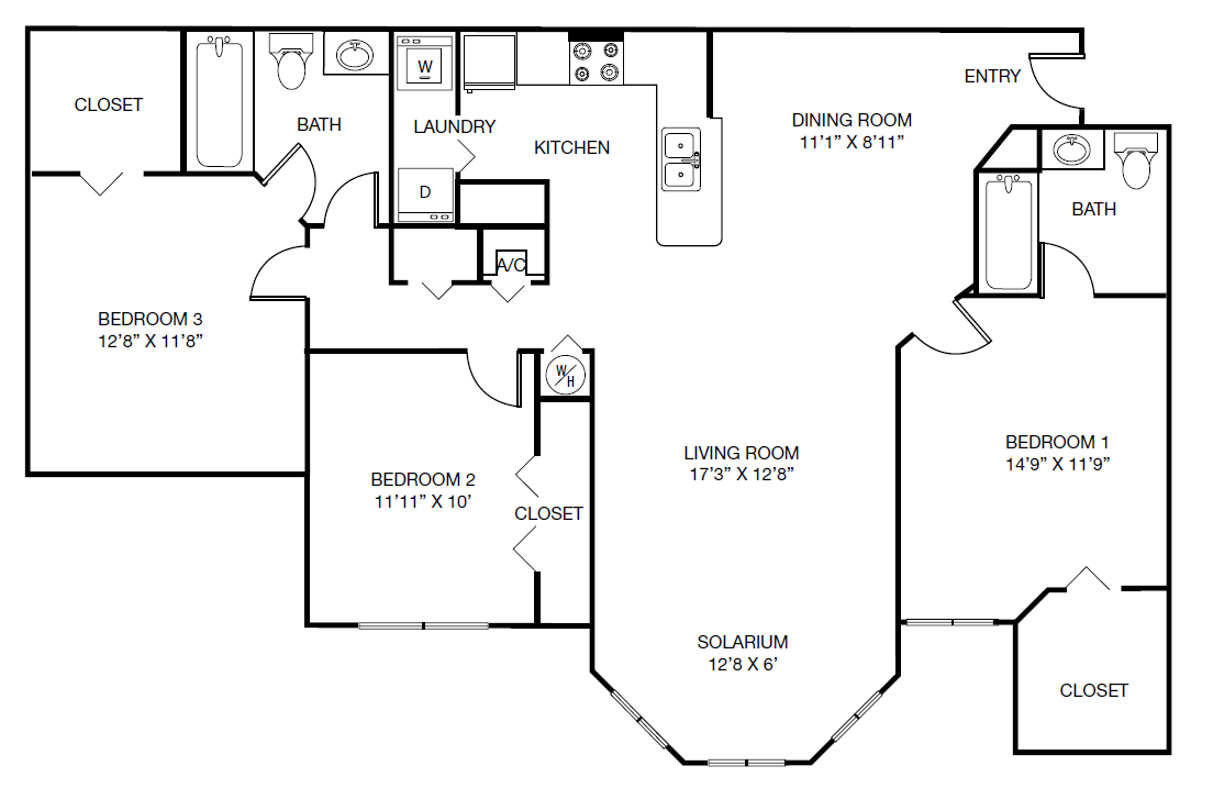 Floor Plans | The Vinings at Hunter\'s Green in Tampa, Florida ...