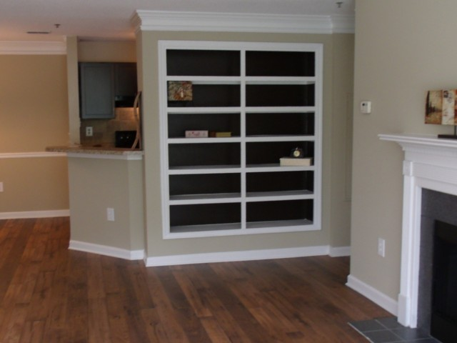 Image of Built-In Shelving for River Vista Apartment Homes