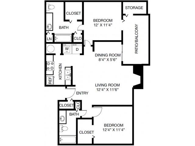 The Palisades at Bear Creek Apartment Homes