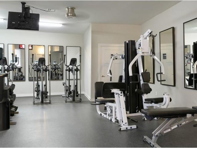 Image of 24 hour fitness center for The Landings