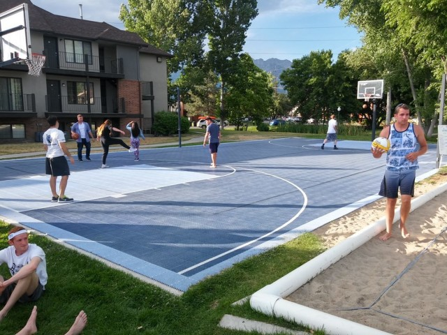 Image of Basketball Court for Branbury Park