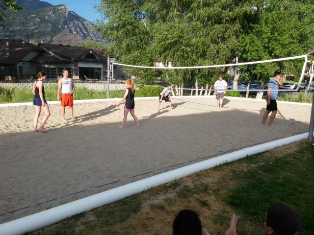 Image of Volleyball court for Branbury Park