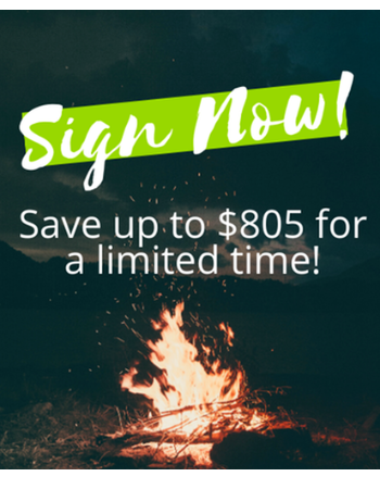 Sign In 48 Hours For $0 Down & Up to $40 Off Per Month!