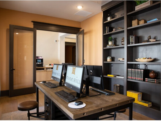 Image of Computer Lounge for Stone Hill Apartments