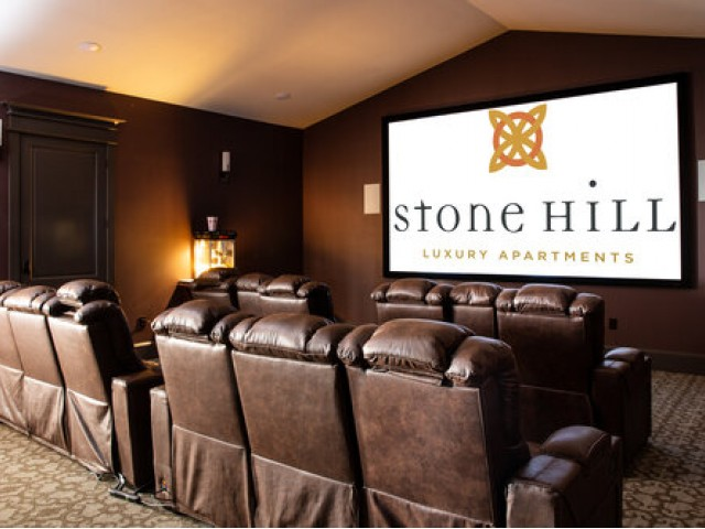 Image of Movie Theatre for Stone Hill Apartments