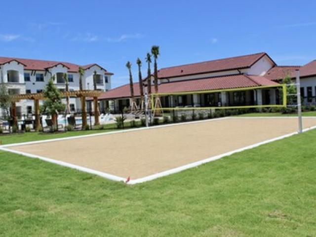 Image of Sand Volleyball Court for Stone Hill Apartments
