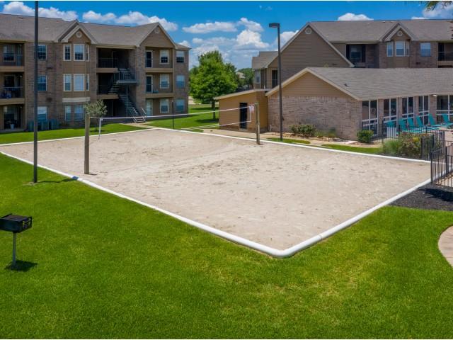 Sand Vollyball Court