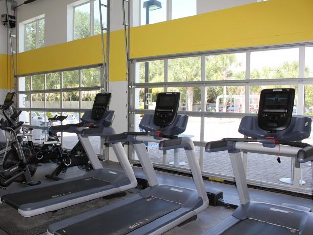 The Venue at North Campus-Interior   Fitness Center   Treadmills