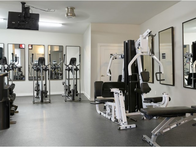 Image of 24 hour fitness center for The Landings