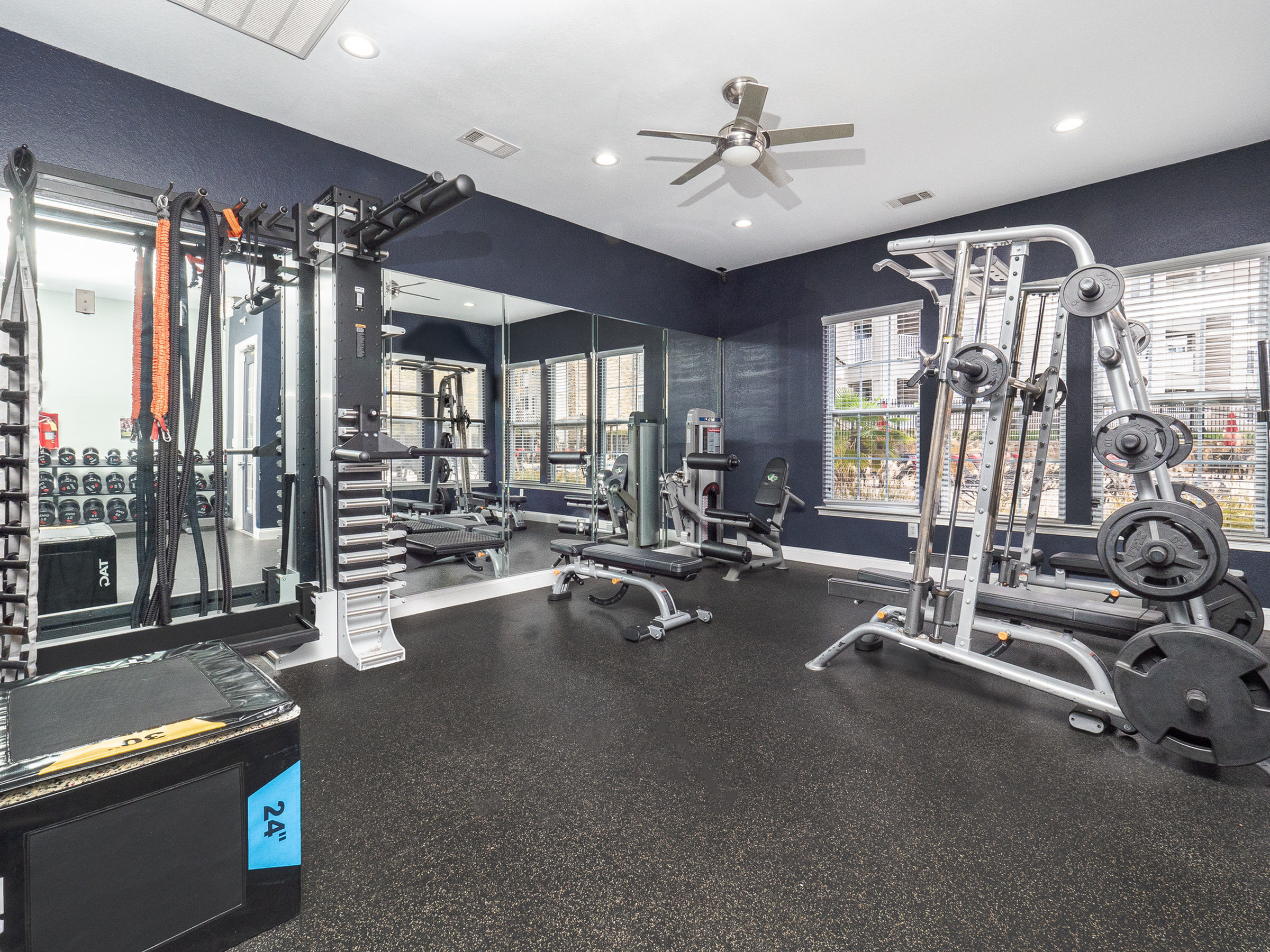 Image of Fitness Center for Village Green Student Housing