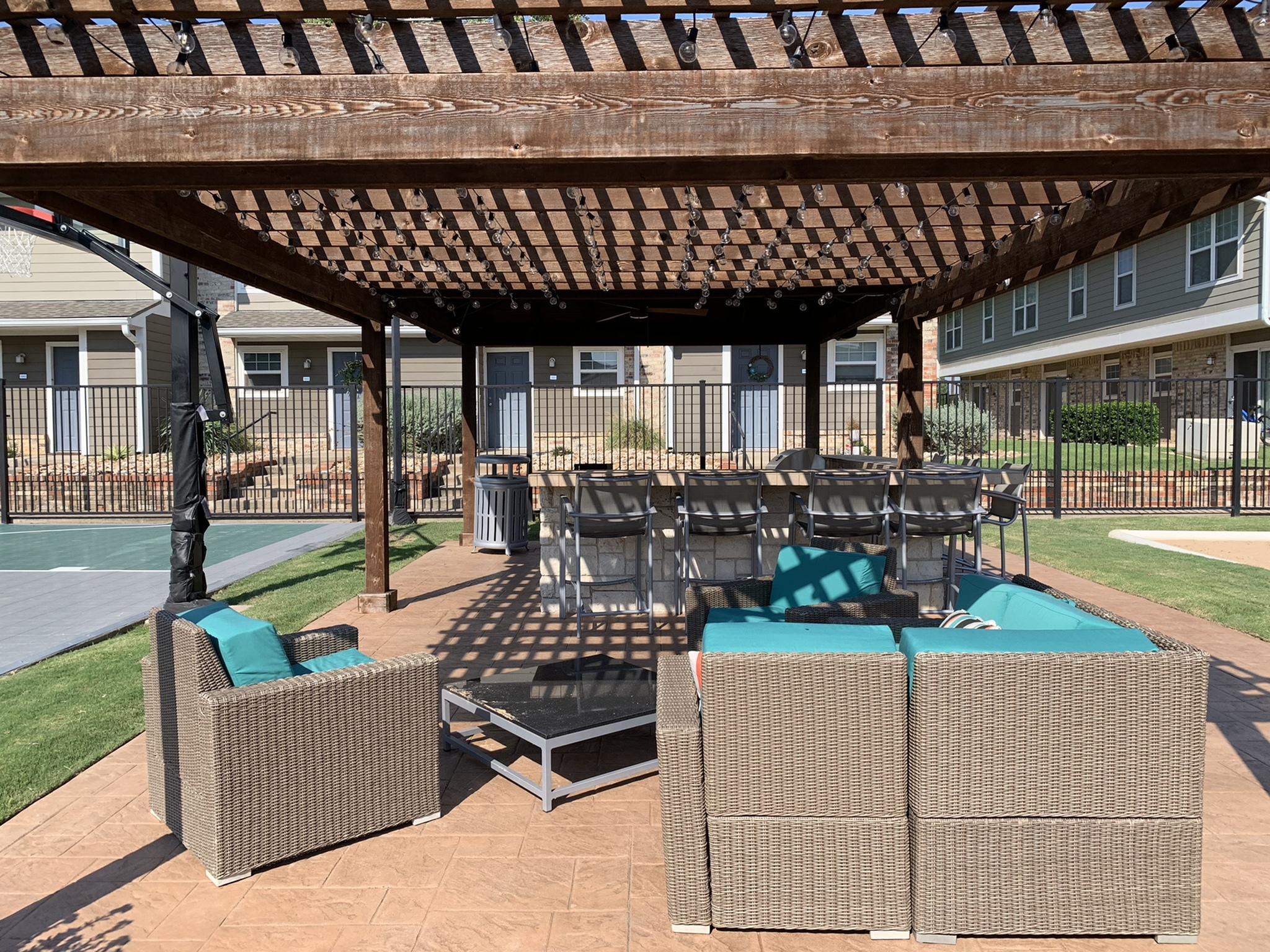 Image of Outdoor Kitchen and Lounge Areas for The Venue