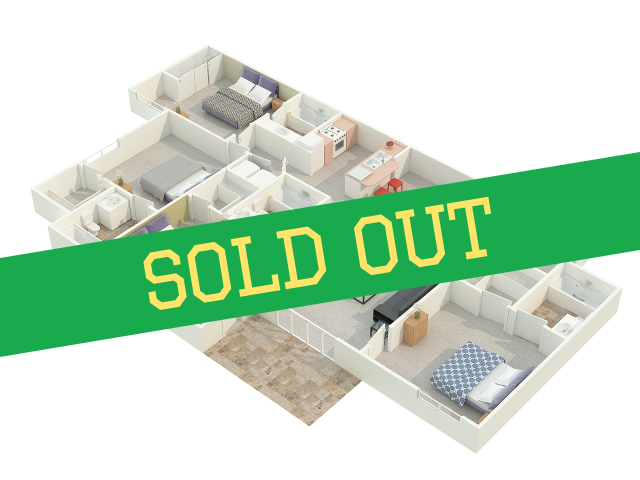 4 Bedroom Floor Plan Sold Out
