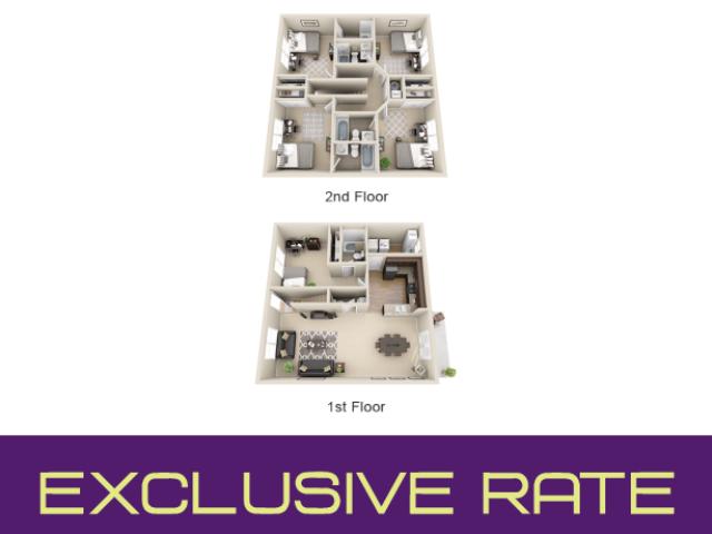 5 bedroom apartment floor plan