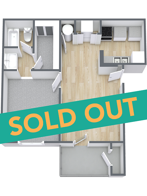 A1 floorplan is sold out
