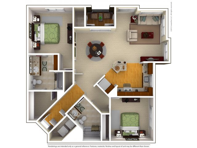 2 Bed 2 Bath Apartment In San Jose Ca Mosaic Ca