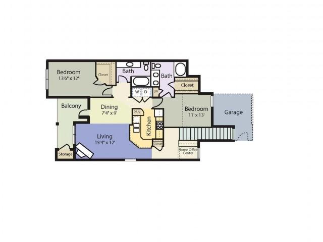 1 - 3 Bed Apartments | Mandolin