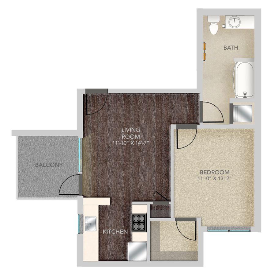 1 Bed / 1 Bath Apartment in Santa Monica CA | Gibson Santa Monica