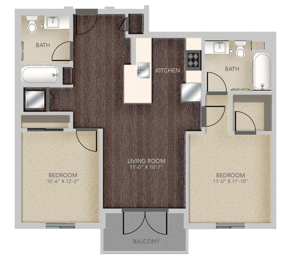 2 Bed / 2 Bath Apartment in Santa Monica CA | Gibson Santa Monica