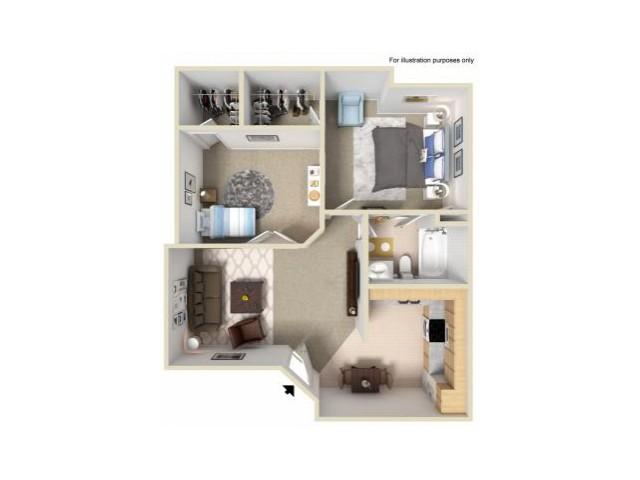 Studio 2 Bed Apartments Sun Village