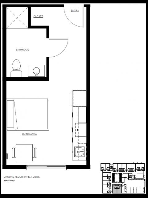 Ground Floor Type A Units