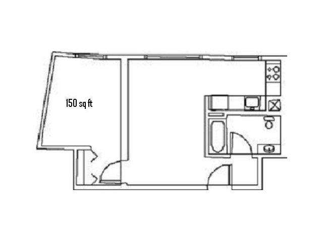 Eddygate 1 Bedroom Type B