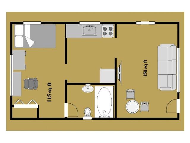 Lakestreet 1 Bedroom Apartments