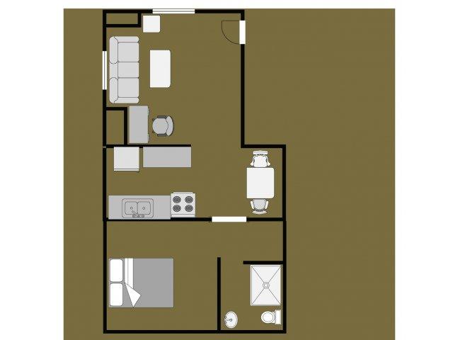 Lakestreet 108-3 One Bedroom