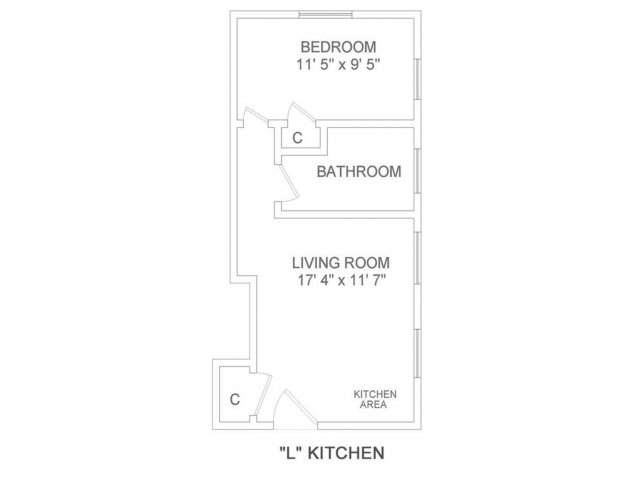Lakeland 1 Bedroom L