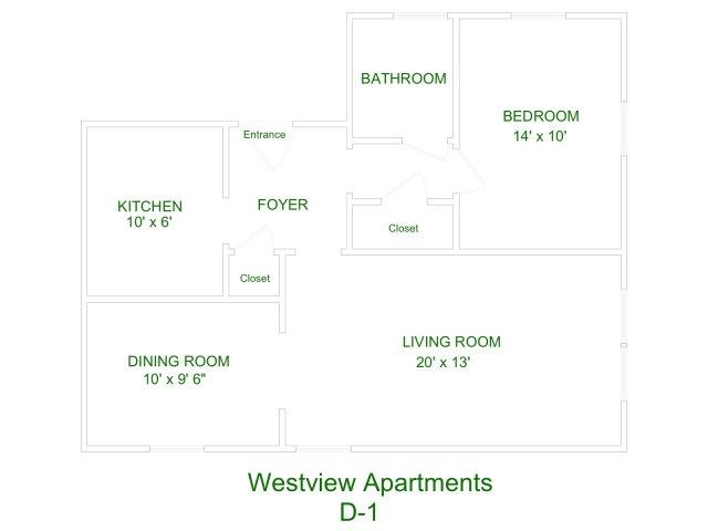 Westview Apartment D1