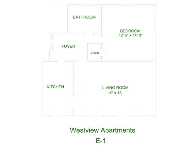 Westview Apartment E1